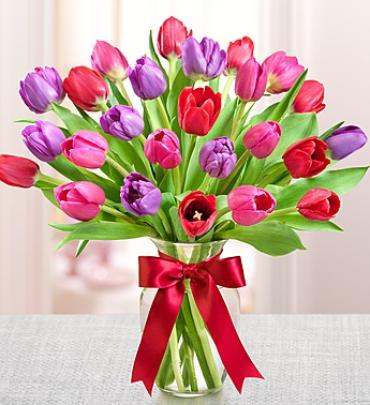 "Tulips for Your Valentineâ""¢"