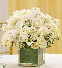 All White Centerpiece Package
