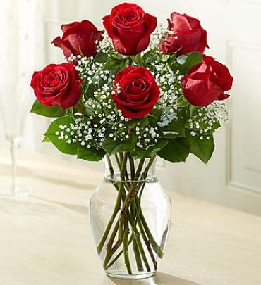 "Love\'s Embraceâ""¢ Roses - Red"